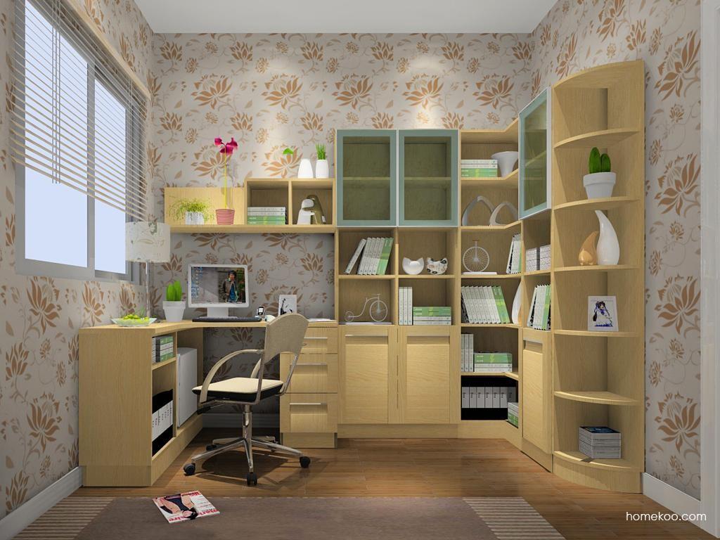 丹麦本色书房家具C9411
