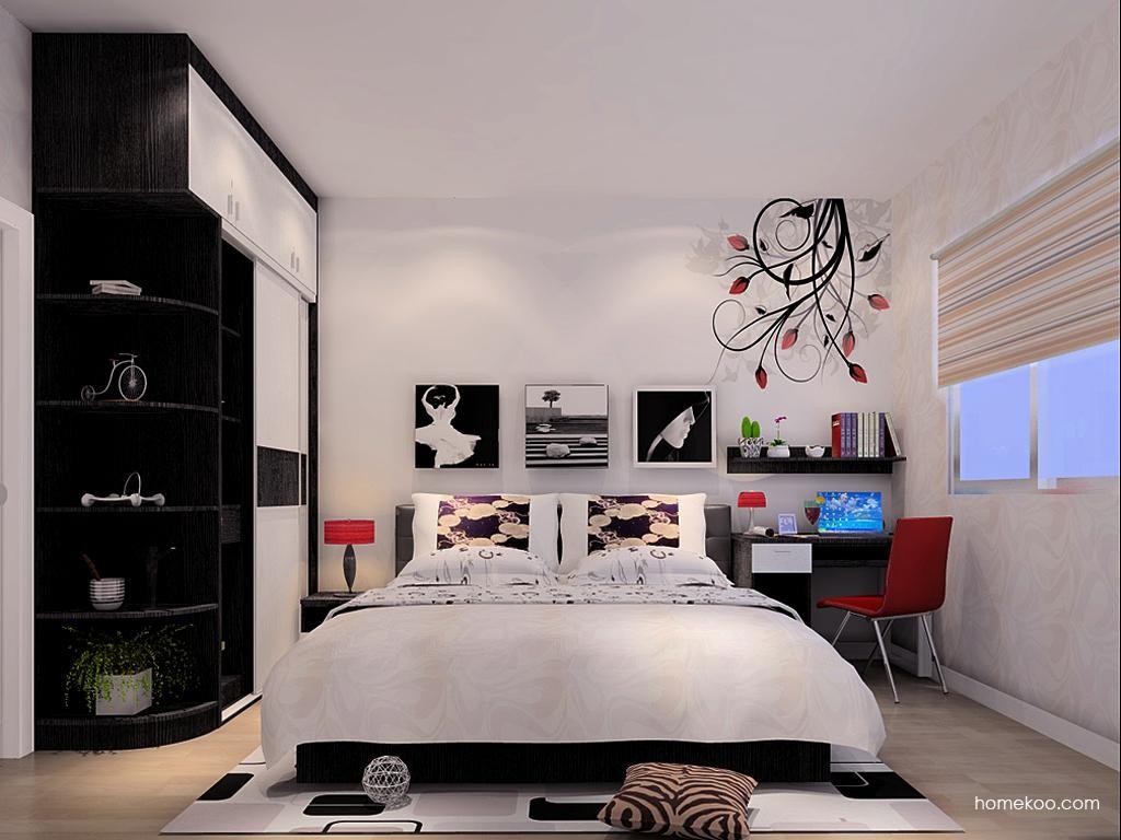 简约主义卧房家具A9945