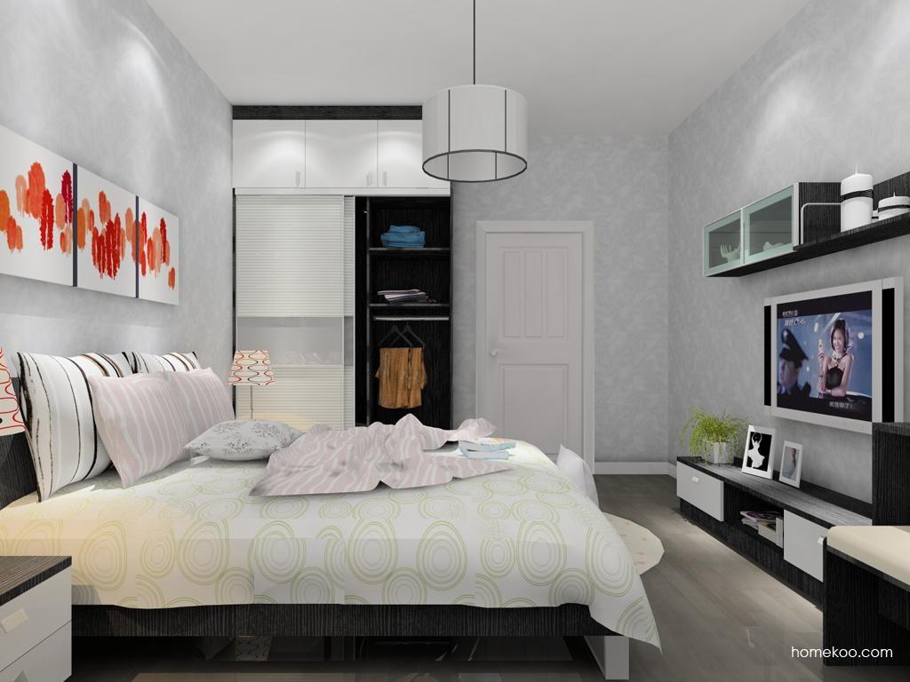简约主义卧房家具A9957
