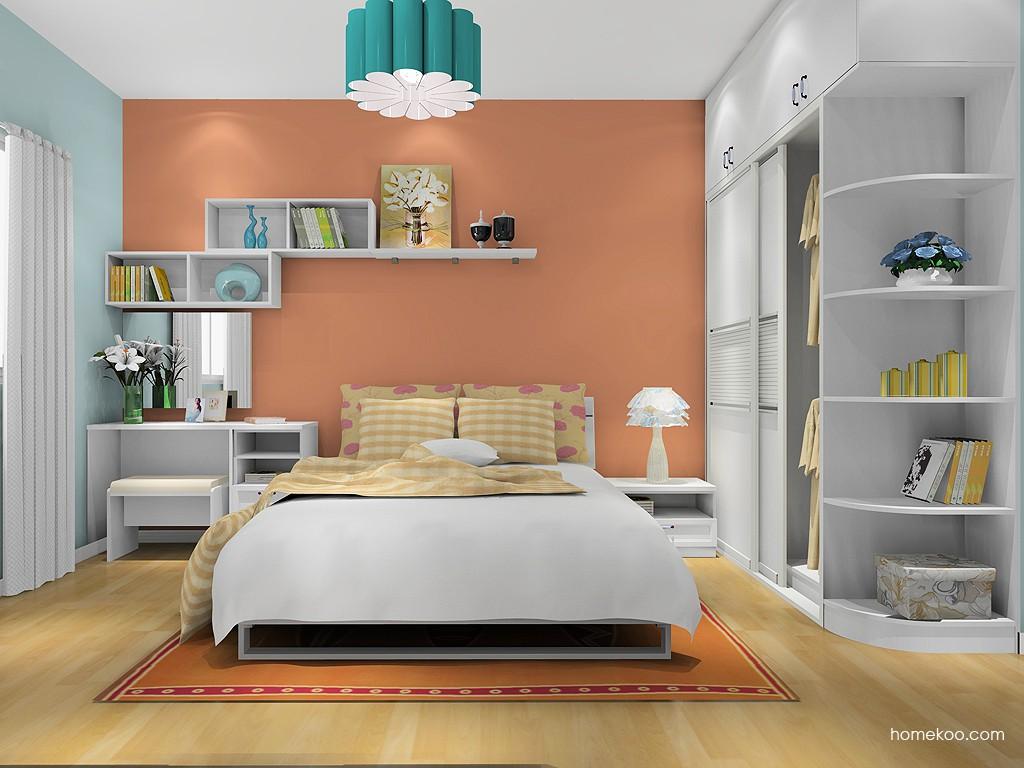 韩式田园卧房家具A9976