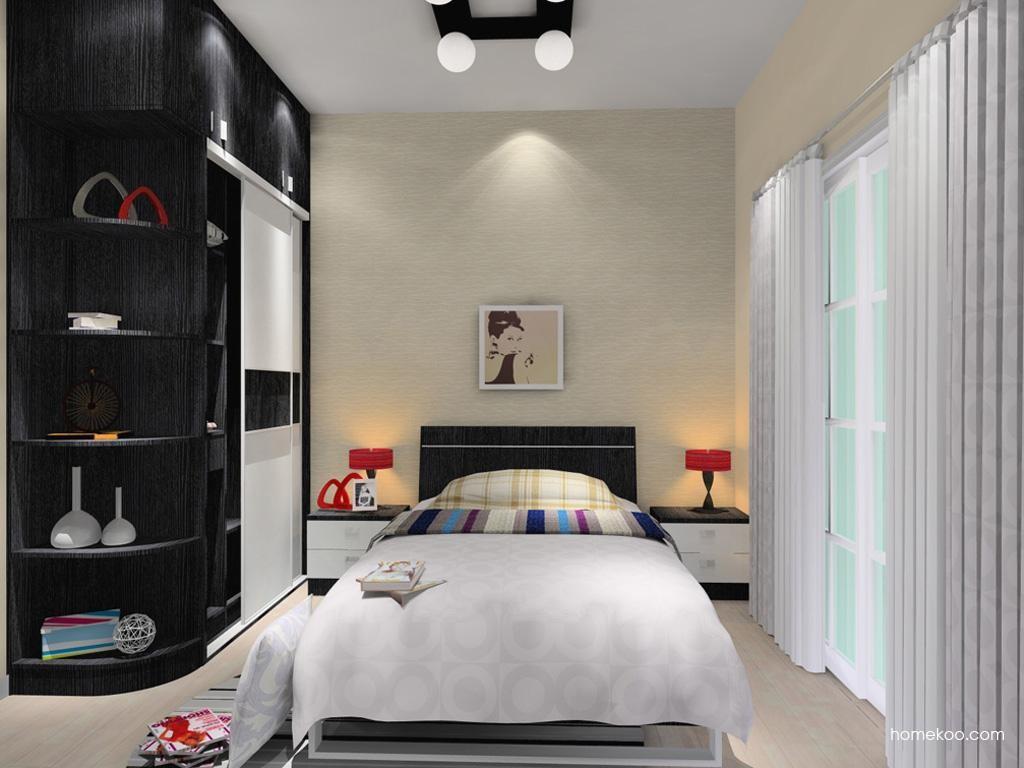 简约主义卧房家具A9962
