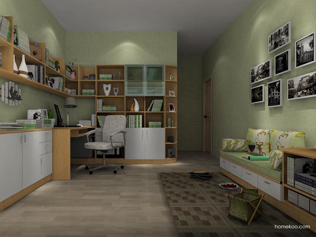 新实用主义书房家具C9438
