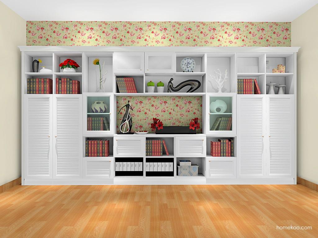 韩式田园书房家具C1207