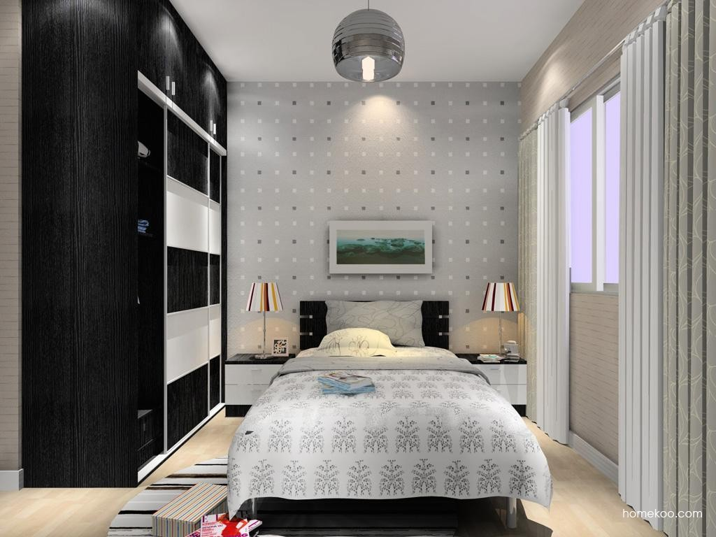 简约主义卧房家具A10070