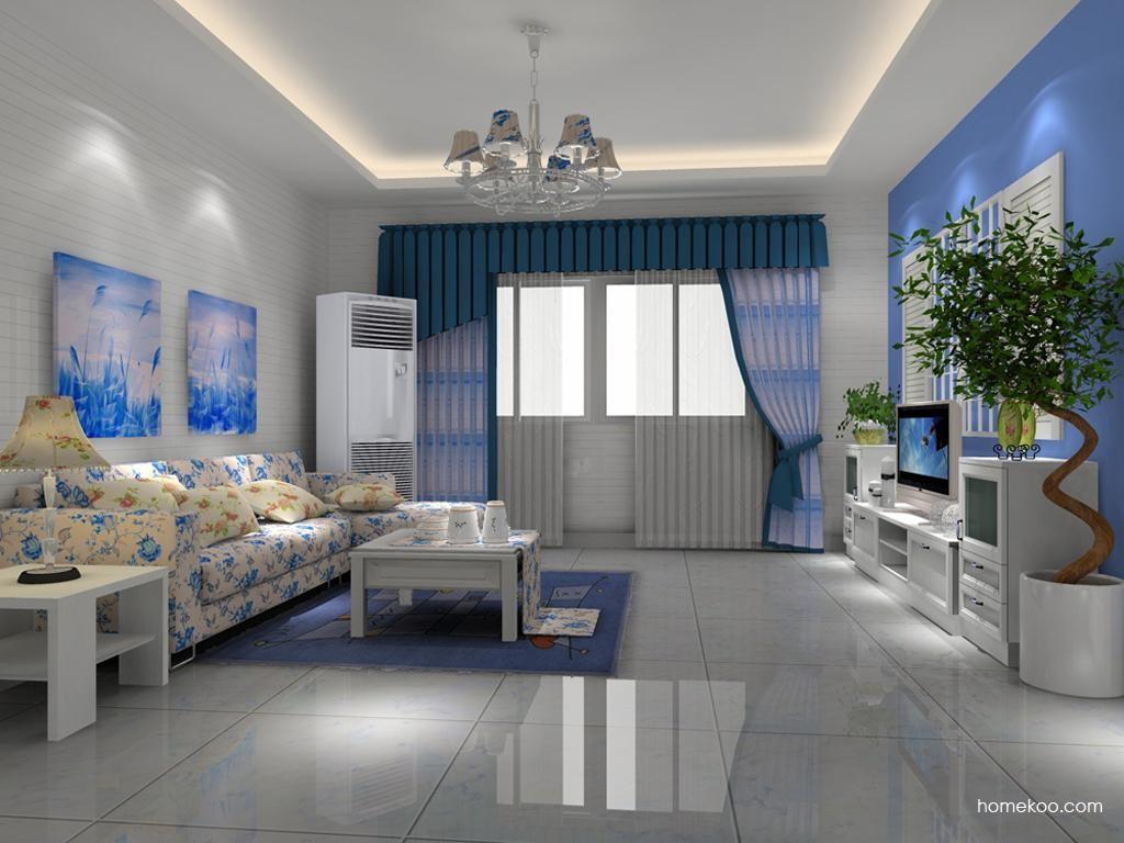 韩式田园客厅家具D8279