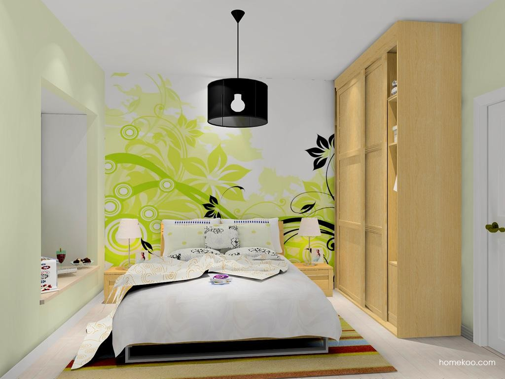 丹麦本色卧房家具A10102