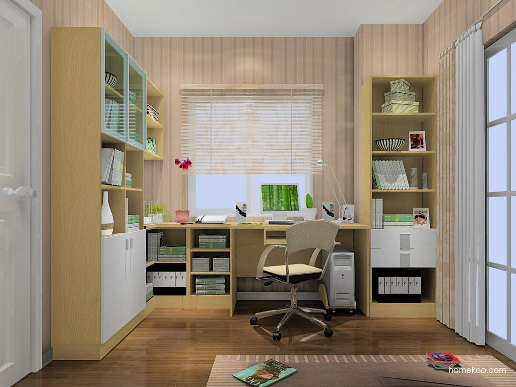 新实用主义书房家具C9495