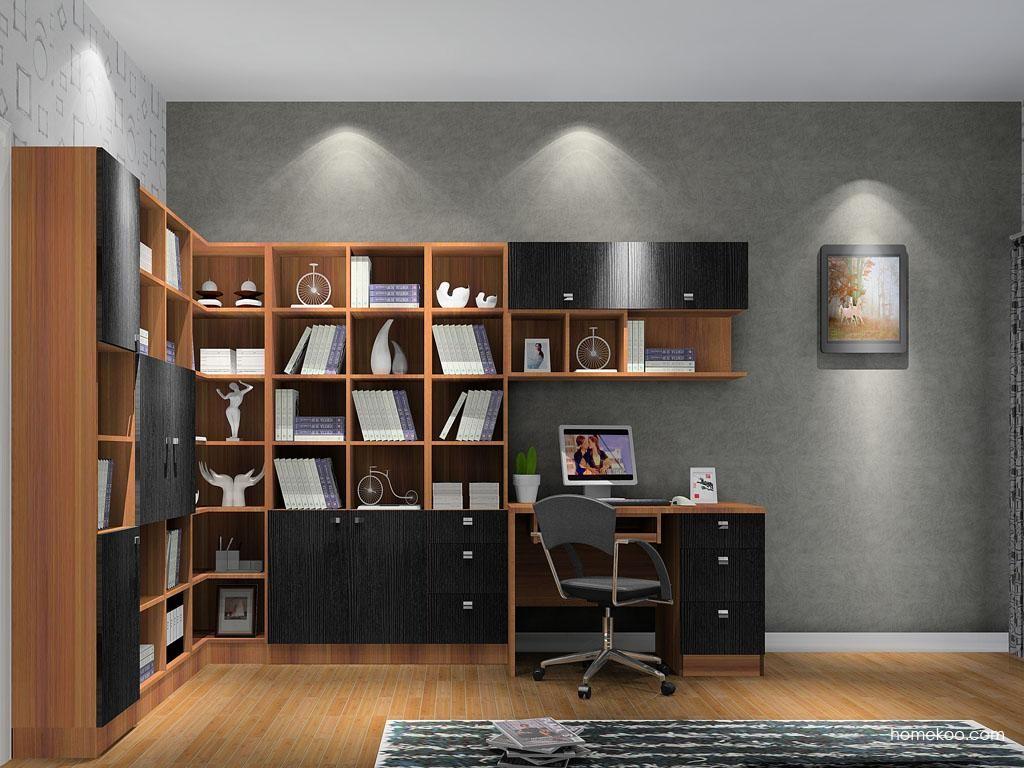 德国森林书房家具C9519