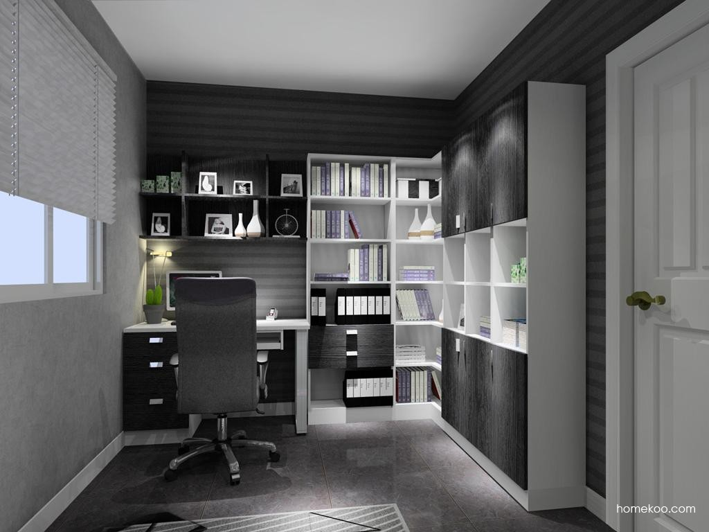 简约主义书房家具C9538