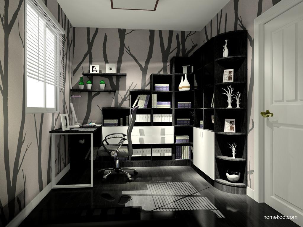 简约主义书房家具C9557