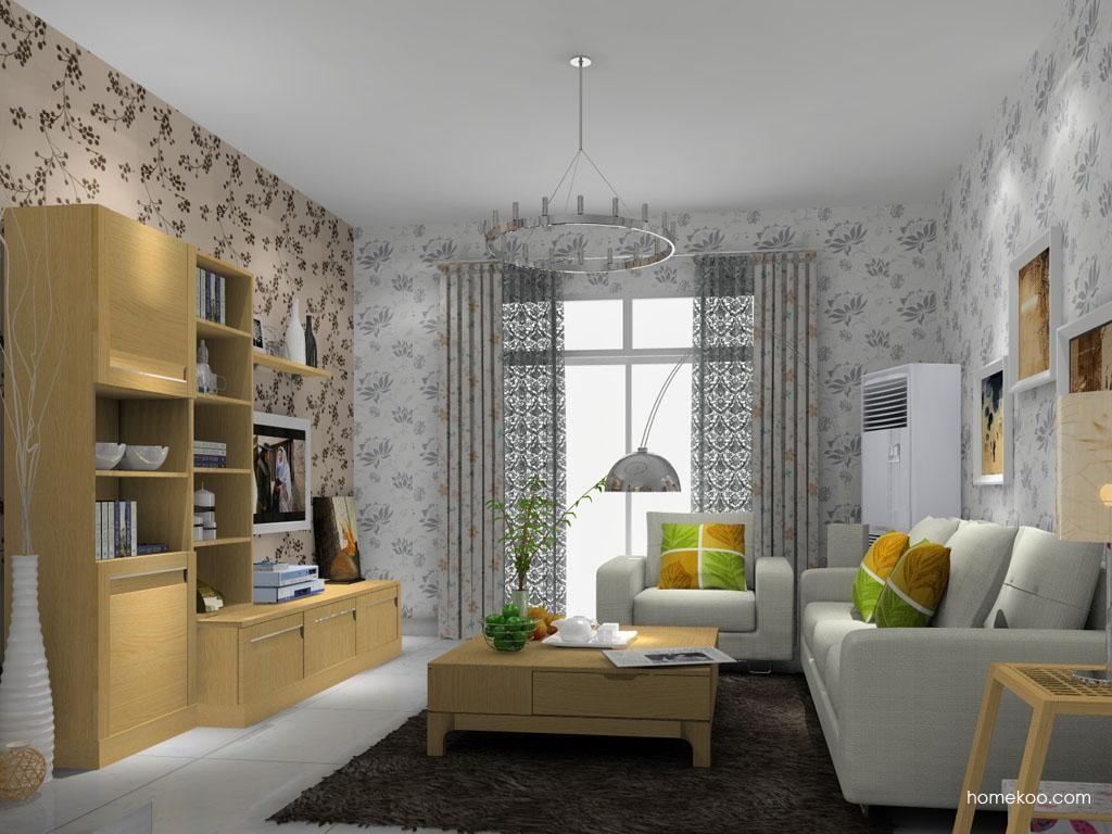 丹麦本色客厅家具D8323