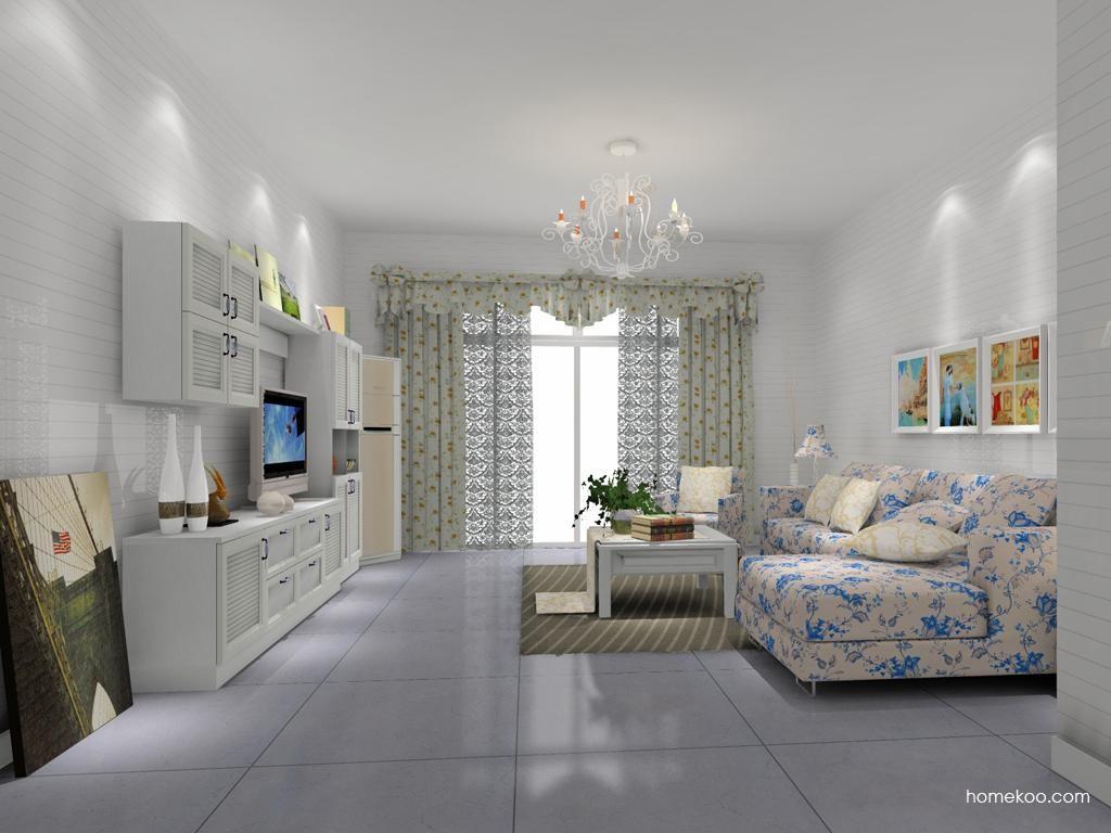 韩式田园客厅家具D8334