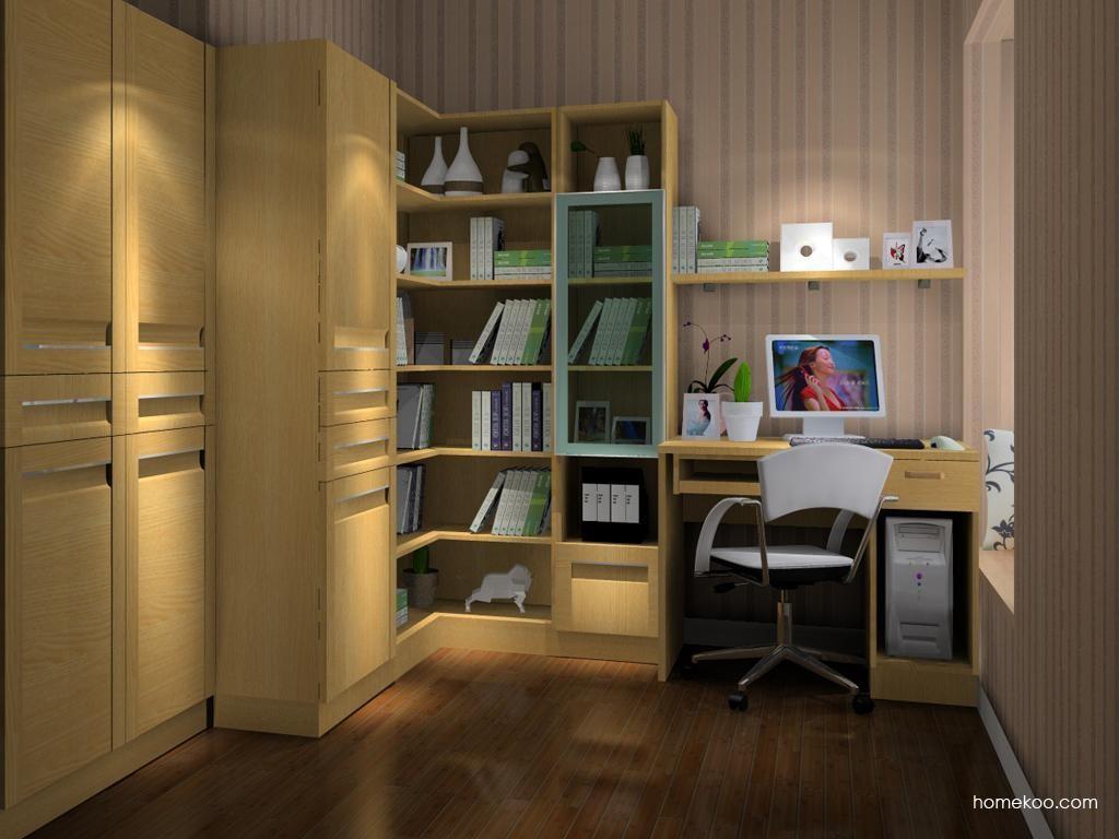 丹麦本色书房家具C9579