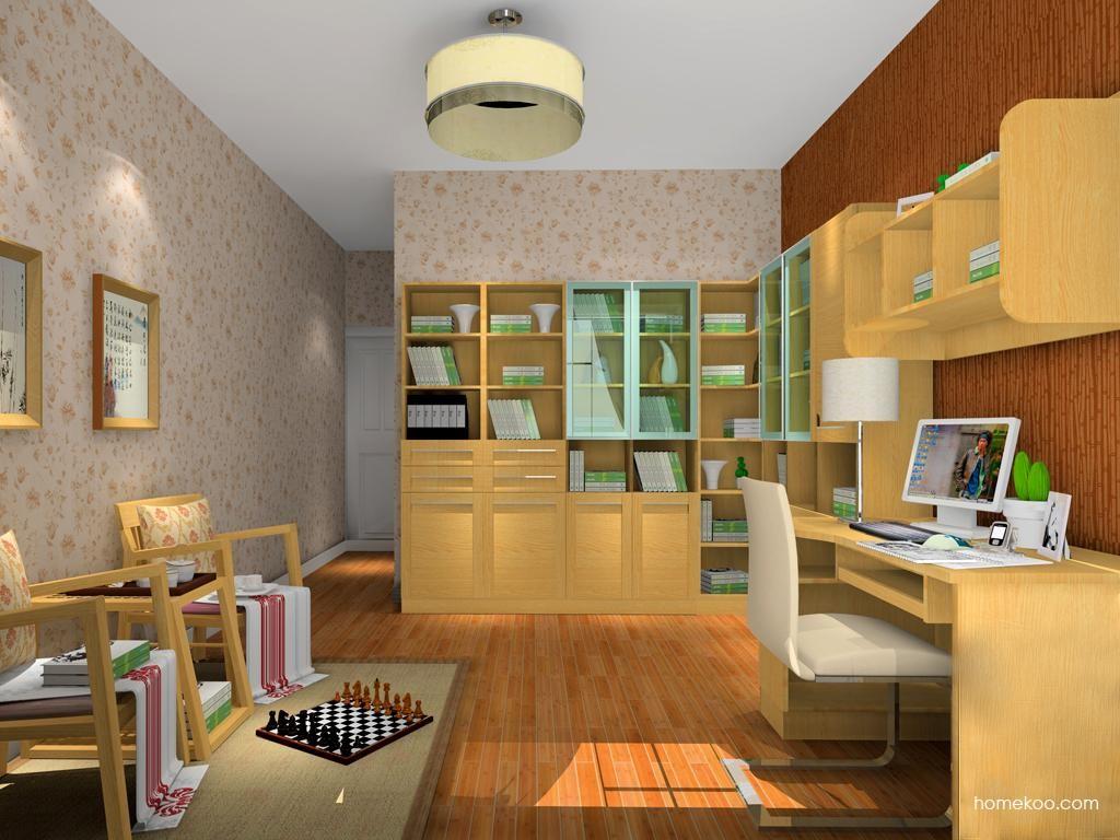 丹麦本色书房家具C10262