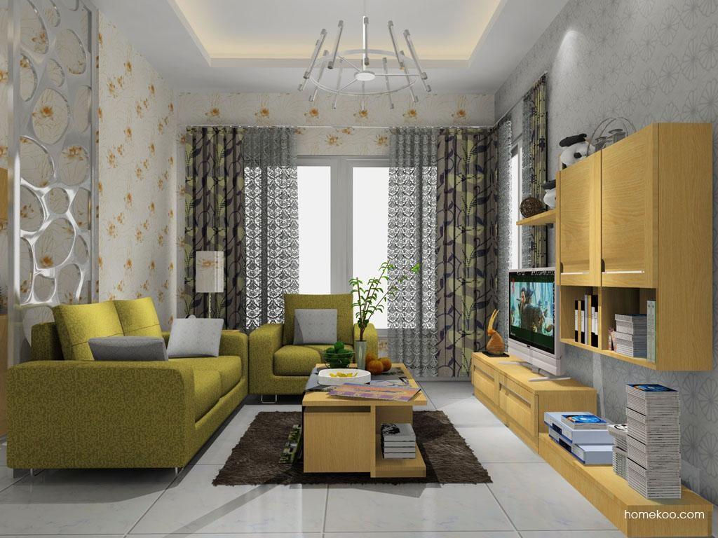 丹麦本色客厅家具D8370