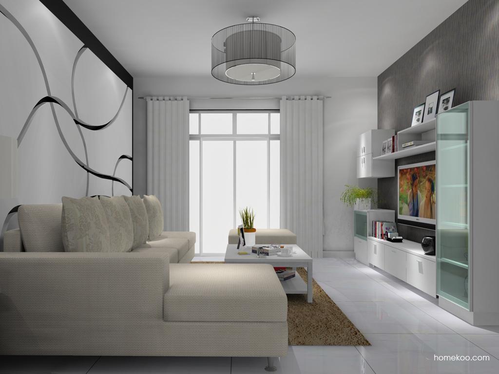 新实用主义客厅家具D8372