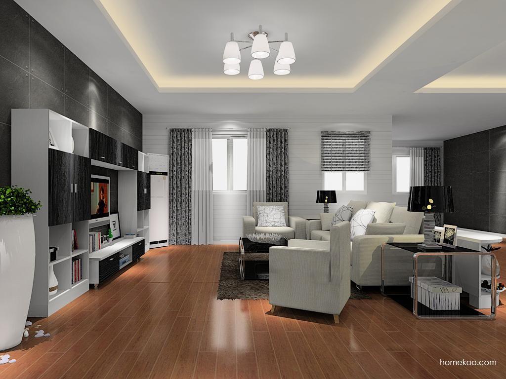 简约主义客厅家具D8373