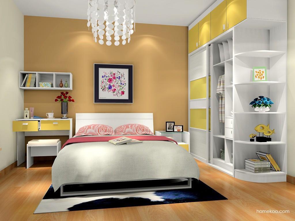 浪漫主义卧房家具A10397