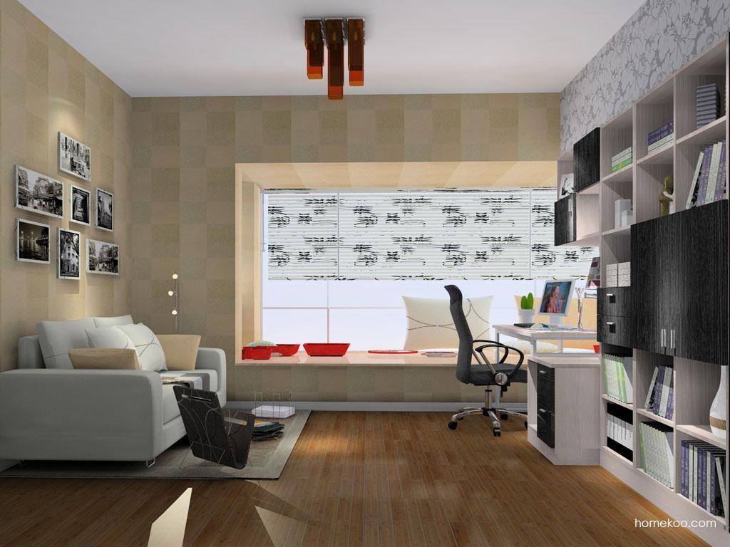 新实用主义书房家具C10362