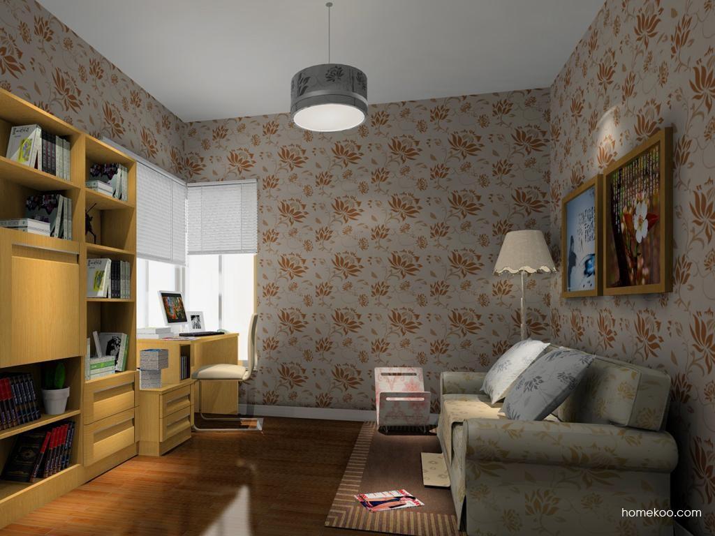 丹麦本色书房家具C10364