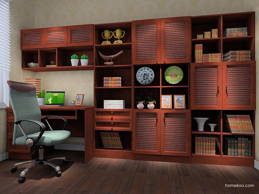 新中式主义书房家具C10366