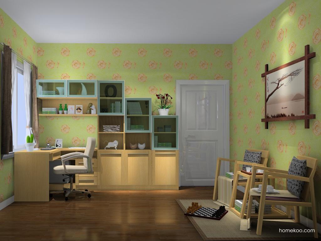 丹麦本色书房家具C10370