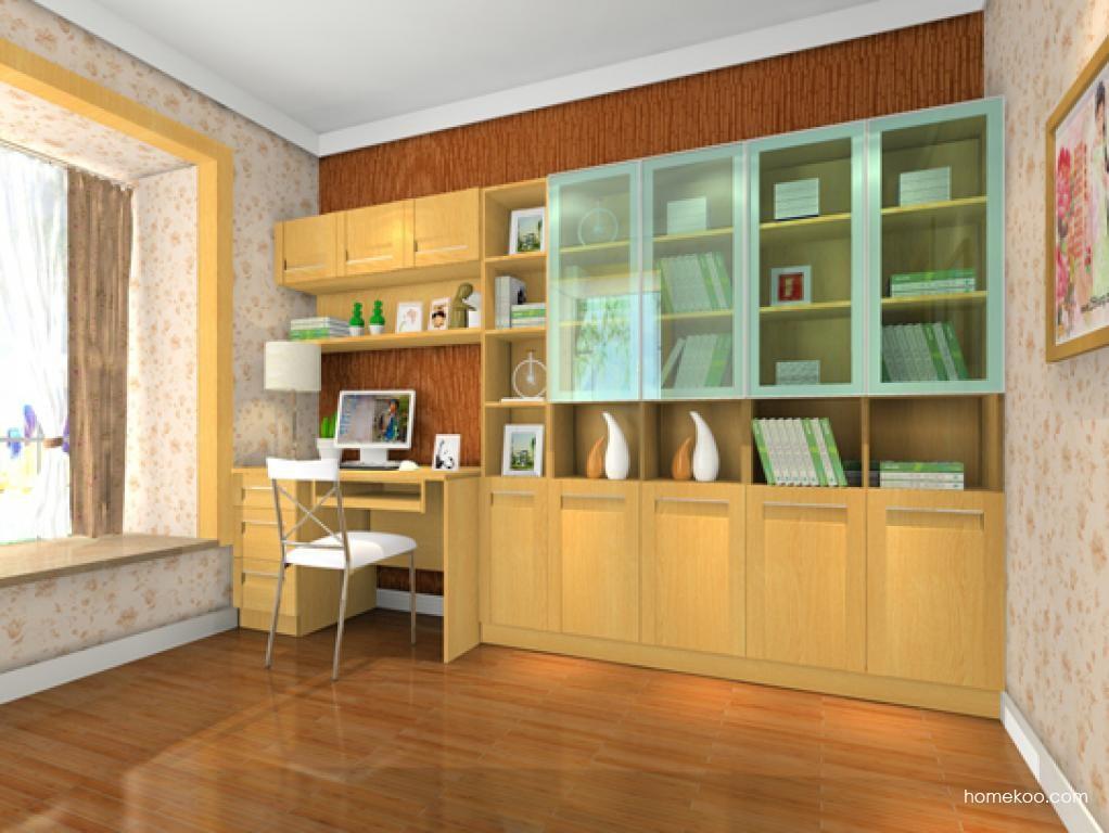 丹麦本色书房家具C10373