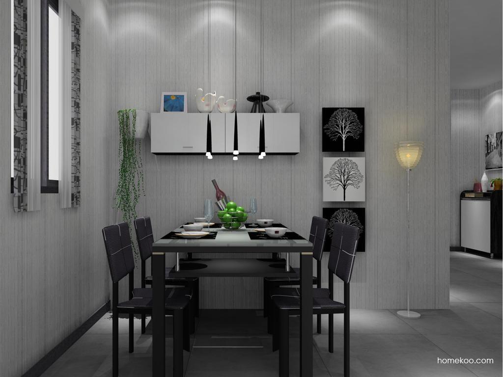 简约主义餐厅家具E8412