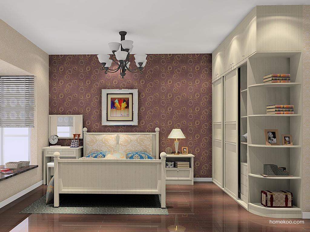 英伦印象卧房家具A10478