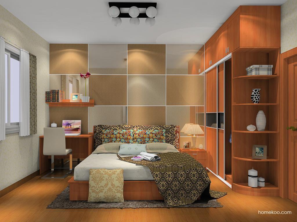 新实用主义卧房家具A10489