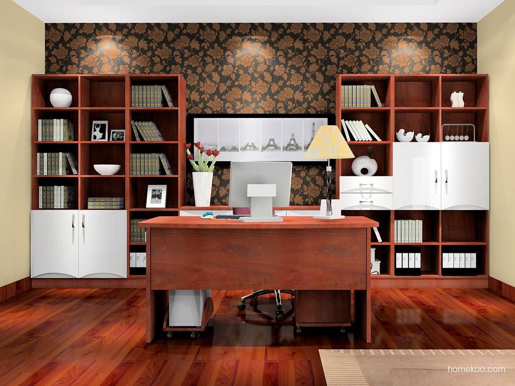 挪威月色书房家具C0246