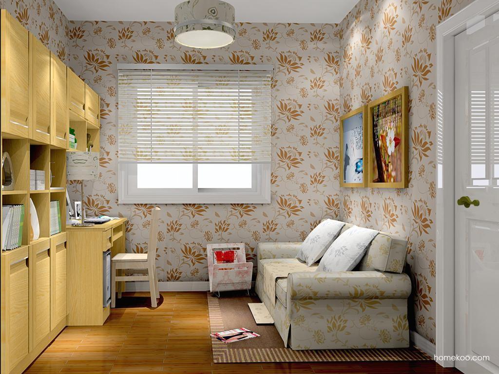 丹麦本色书房家具C10402