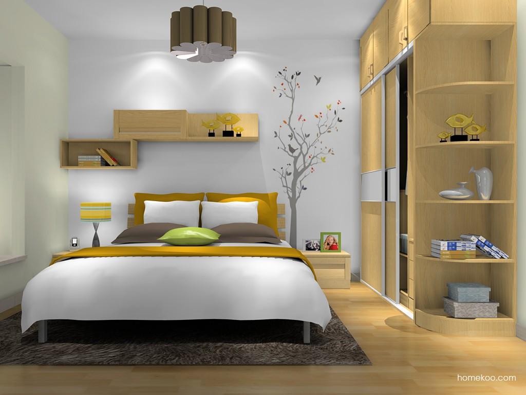丹麦本色卧房家具A10540