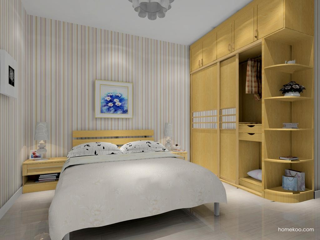 丹麦本色卧房家具A10634