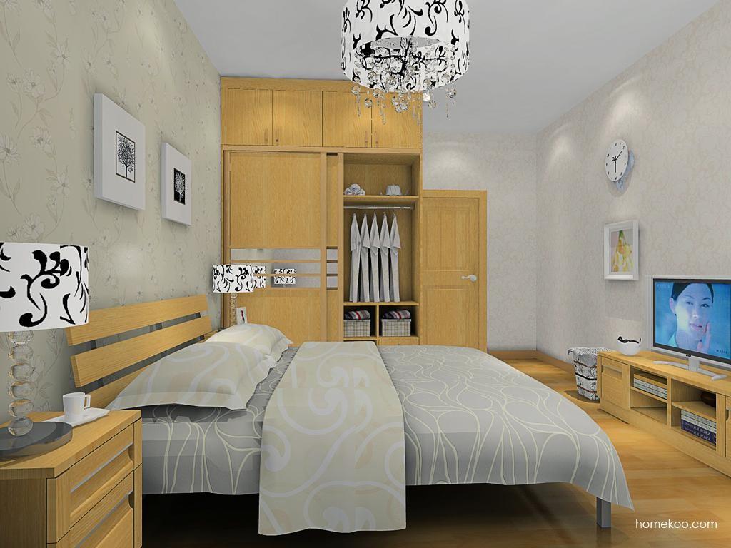 丹麦本色卧房家具A10639