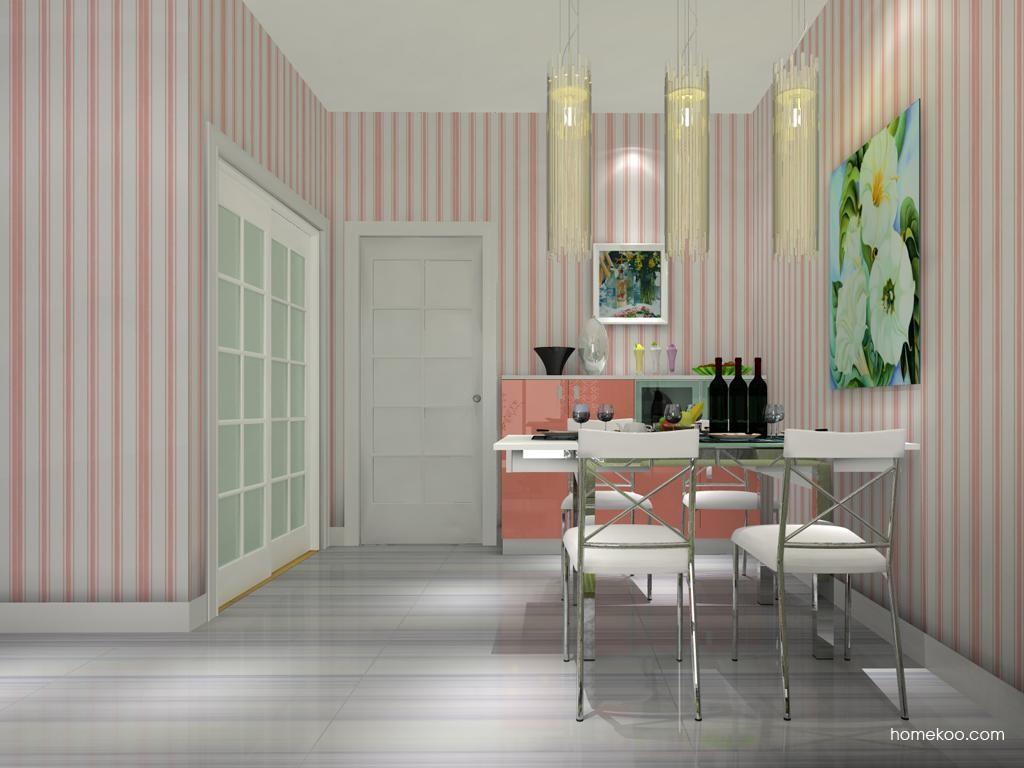 浪漫主义餐厅家具E8454