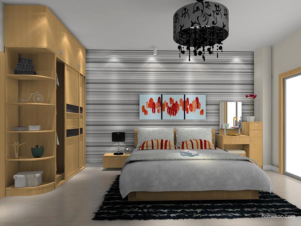 新实用主义卧房家具A10684
