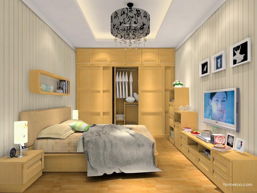 丹麦本色卧房家具A10692