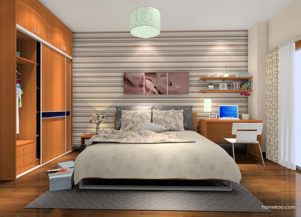 新实用主义卧房家具A10707
