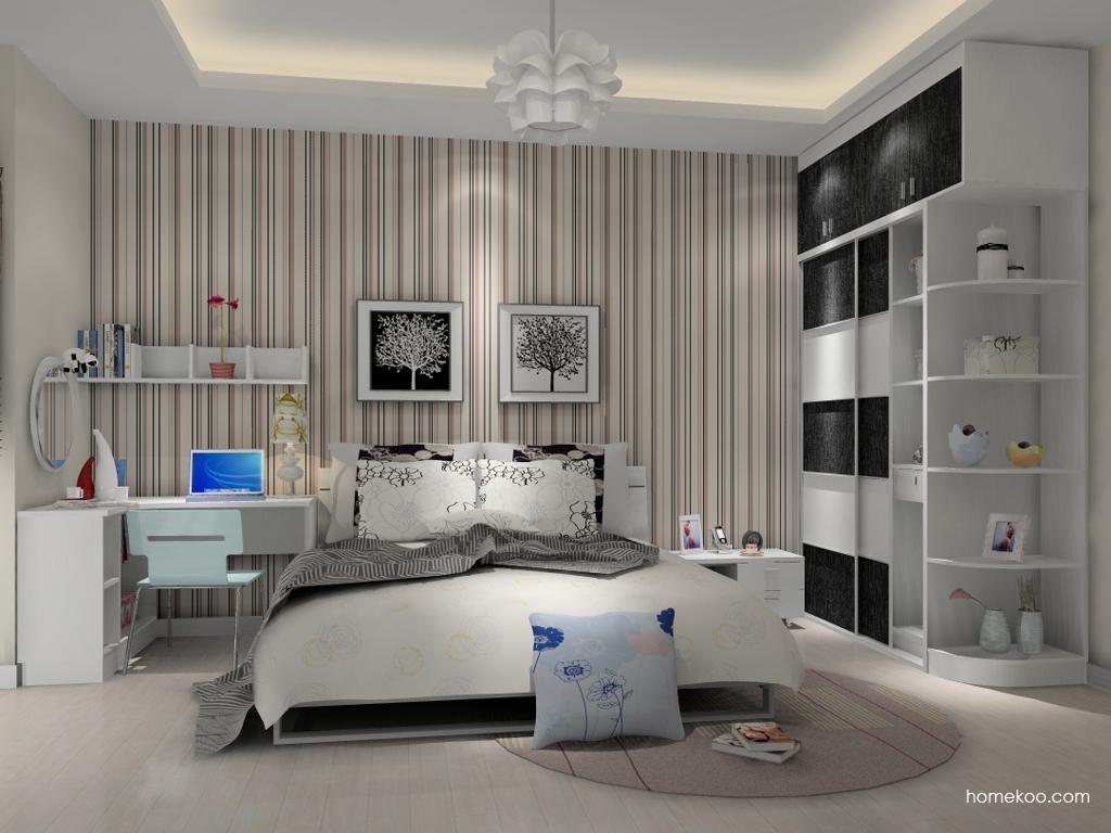 简约主义卧房家具A10741
