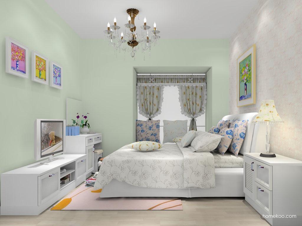 韩式田园卧房家具A10814