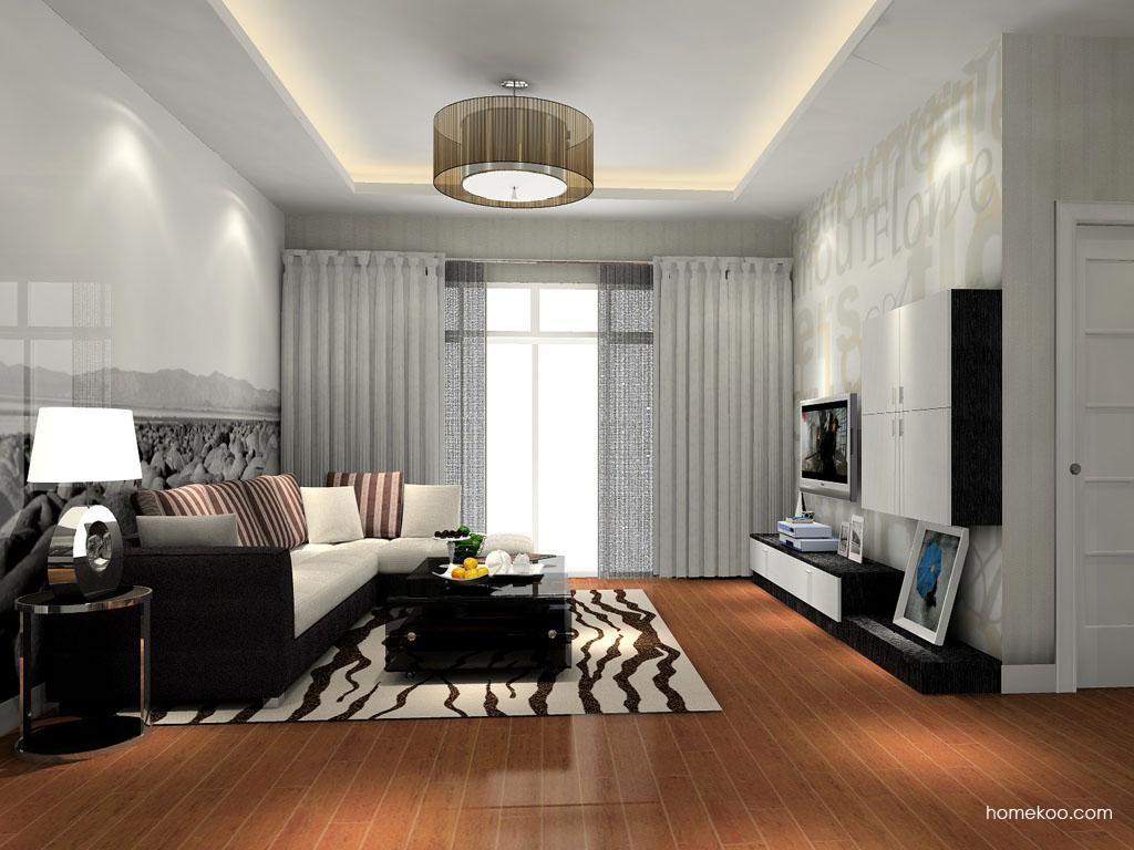简约主义客厅家具D8504