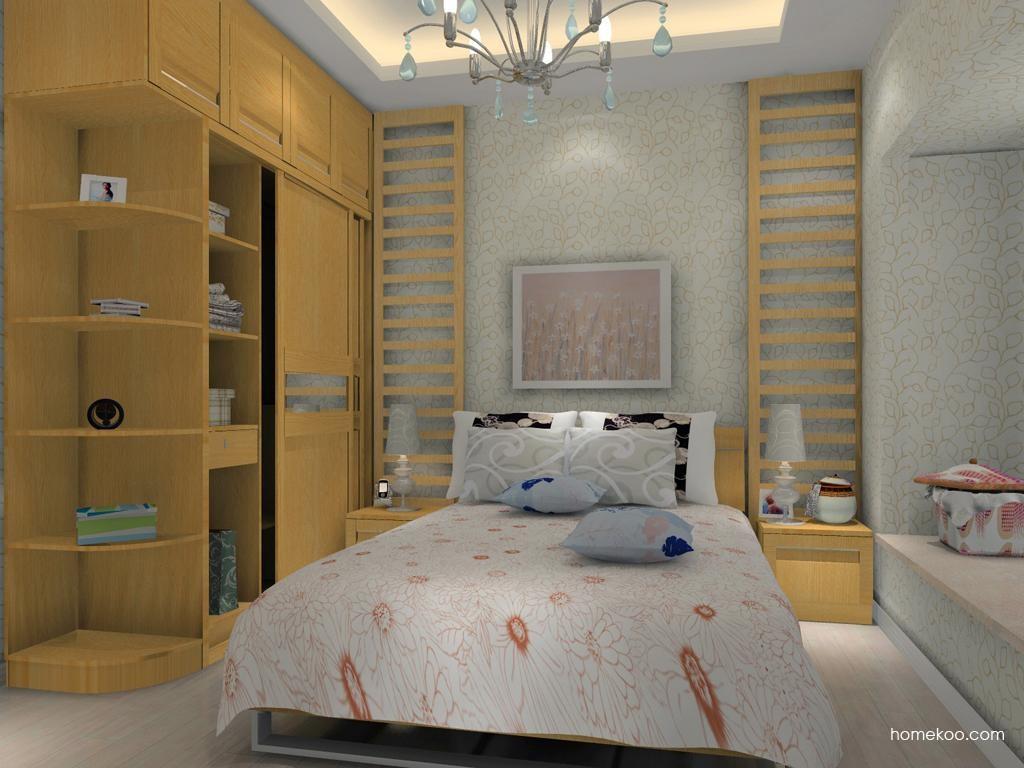 丹麦本色卧房家具A10844