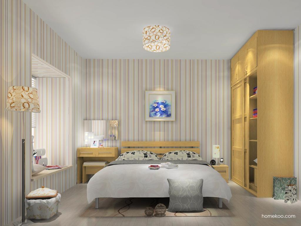 丹麦本色卧房家具A10874