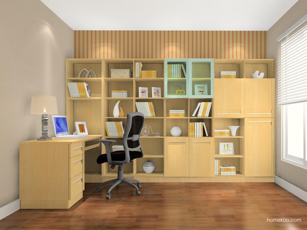 丹麦本色书房家具C1237