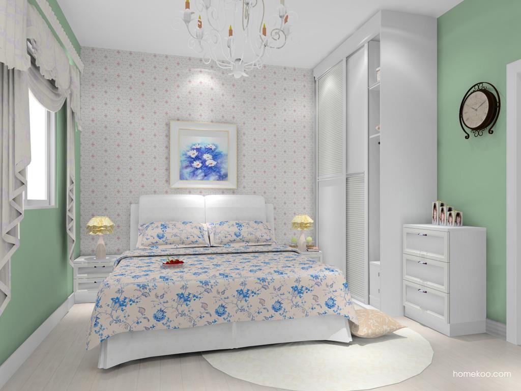 韩式田园卧房家具A10893