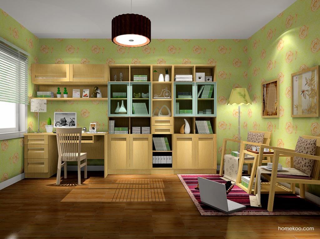 丹麦本色书房家具C10445
