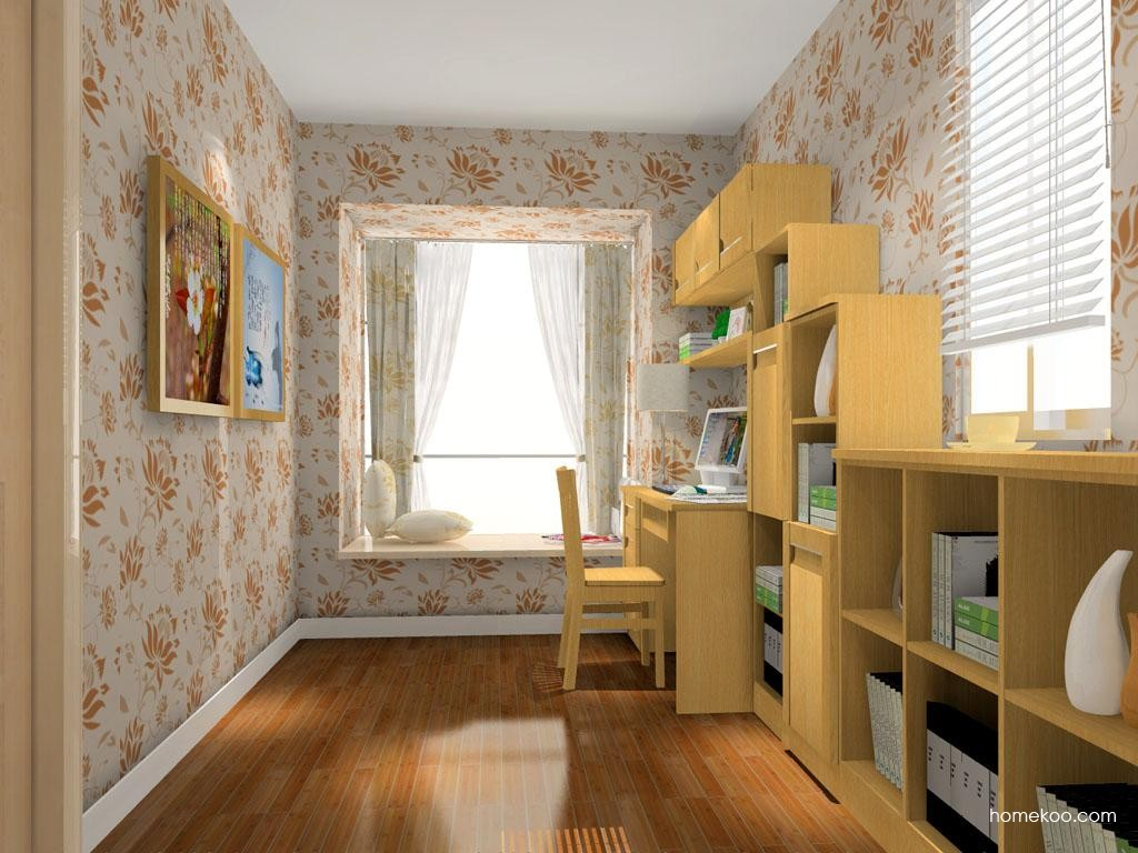 丹麦本色书房家具C10469