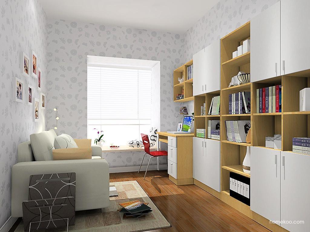 新实用主义书房家具C10473
