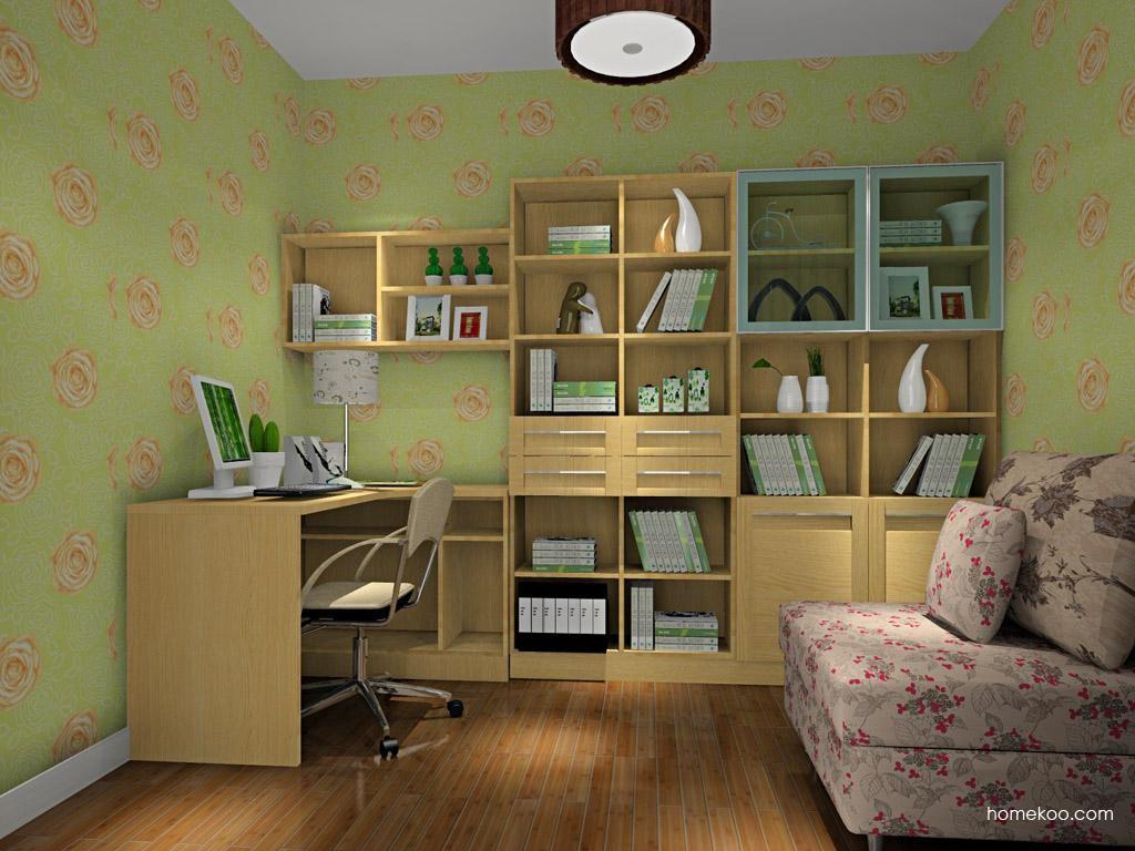 丹麦本色书房家具C10494